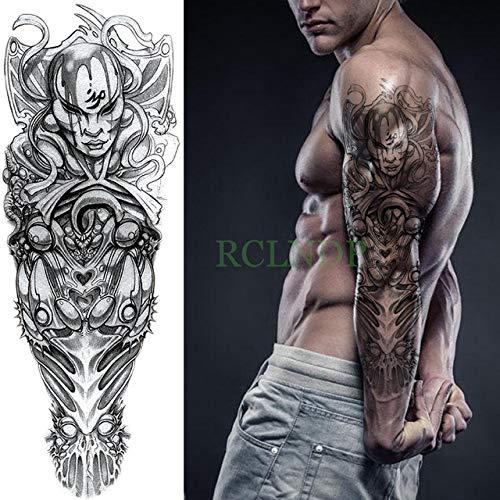 Handaxian 3pcsPegatina de Tatuaje a Prueba de Agua Wolf Wing Cross Cross Arm Tattoo Hombre Ms 3pcs-9
