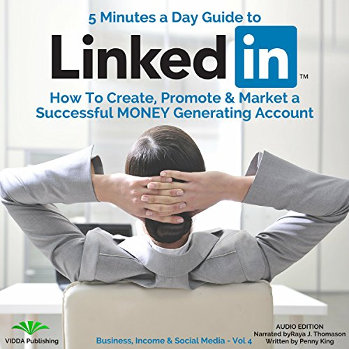 5 Minutes a Day Guide to LinkedIn audiobook cover art