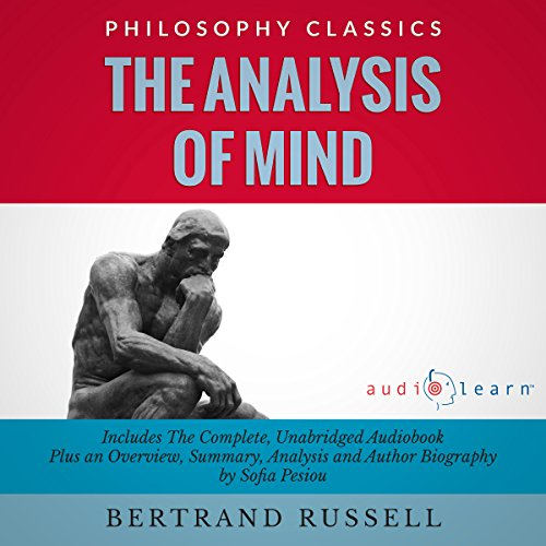 The Analysis of Mind audiobook cover art