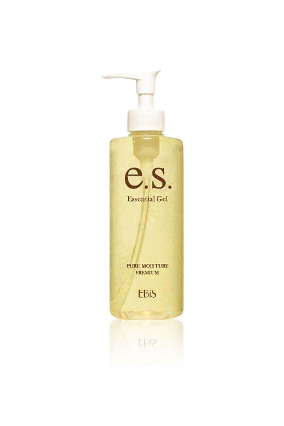 船乗り面白い耐えられないエビス化粧品(EBiS) イーエスエッセンシャルジェル (105g) 美顔器ジェル 無添加処方 アルコールフリー 日本製 男女兼用 保湿ジェル