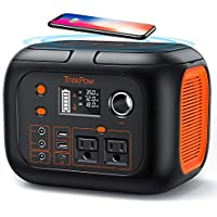 TrekPow 296Wh 80000mAh Backup Lithium Battery with 110V/350W AC Outlets, Wireless Charging & LED Light