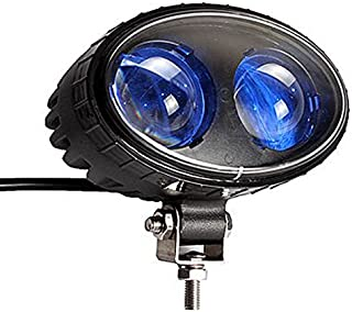 SXMA 5.5inch 8W Blue LED Work light CREE Chips Spot Beam Forklift Safety warning Light (One Piece)