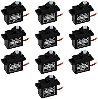 OSOYOO 10pcs Micro Servo Motor for RC Dancing Robot Spider Helicopter Airplane Car Boat Controls Toy 9g