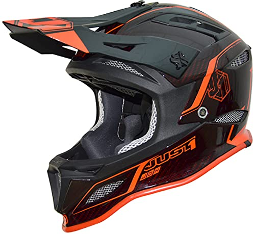 Just 1 Helmets Just1 Jdh Elements Red + MIPS XXL Casco de...