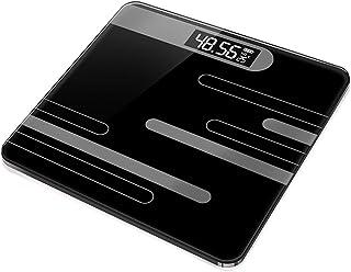 Báscula pesaje,Báscula baño,Alta precisión,Báscula electrónica,Báscula pesaje Corporal,Pantalla retroiluminada,Básculas Digitales,Carga USB,Control Peso,# 6durable