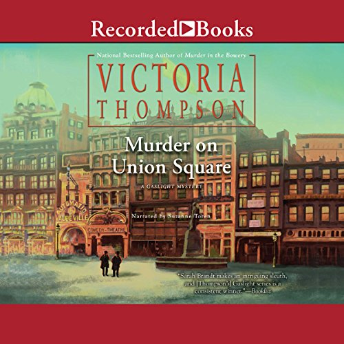 Murder on Union Square audiobook cover art