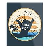 Générique Pura Vida Costa Rica Shaka Poster für die