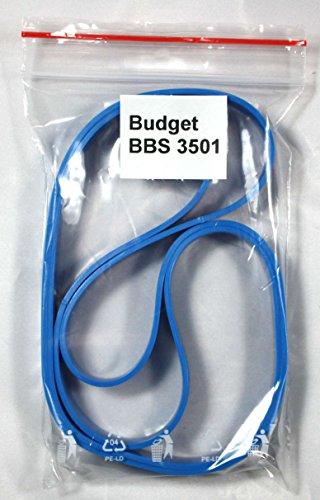 Bandage/Belagband f. d. Bandsägenmaschine Budget BBS 3501, 2 teilig, hochwertig, Bindeglied zwischen Bandsägemaschine u. Sägeband, Ersatz vom Laufrollenbelag Bandsägenbelag Rollenbelag Belag Band