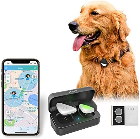 PETFON Dog GPS Tracker No Monthly Fee Real Time Tracking Collar Device APP Control for Pets product image