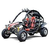 Motor HQ GO-Kart Captain DF200GKA 200CC Off Road Sports Buggy Black