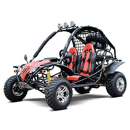 MOTOR HQ GO-KART Captain DF200GKA 169CC Off Road Sports Buggy Black