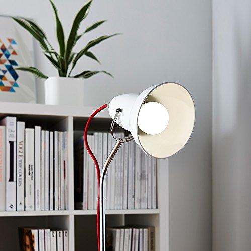 AmazonBasics Bombilla LED Esférica E27, 9W (equivalente a 60W), Blanco Frío - 6 unidades