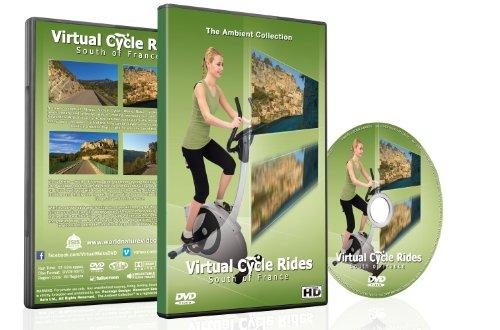 Virtuelle Radtouren - Südfrankreich - für Indoor-Cycling, Laufband und Lauftrainingseinheiten