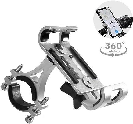 3d0c1e2198e GuDoQi Porta Celular Universal para Moto, Soporte de Celular para Bicicleta  y Moto, Aleación