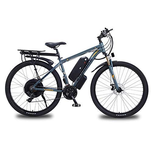 YZ-YUAN Adultos Bicicleta eléctrica 29 Pulgadas Velocidad 48V 12A 1000W MTB Engranajes...