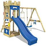 Wickey Fort Knightflyer Playground with Swing, Slide, Sandpit and Climbing Ladder