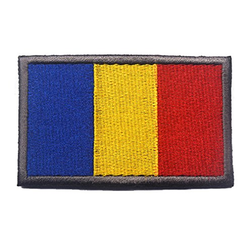 Welt Flagge Patch Bestickt Military Tactical Moral Patches Romania