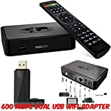 Original MAG 254 IPTV Box from info-mir + Remote + HDMI Cable + US Power Adapter + 600 MBPS USB Dual WiFi Adapter