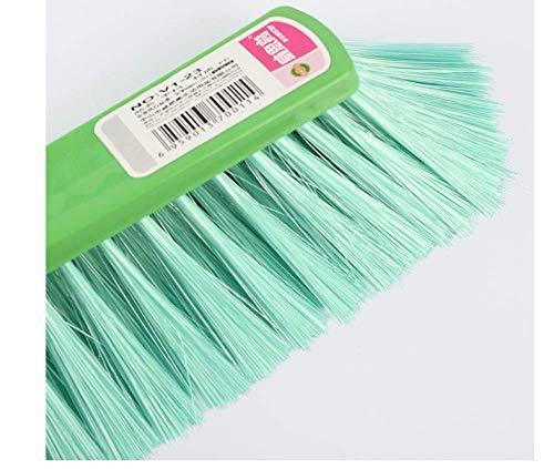 ZZDJ Besen Schaufel Kehrbesen Dustpan Bed Sweep Handheld kleinen Besen weichen Draht Kunststoff Einhandkehr Reinigung des Sofawerkzeugs Haushaltsreiniger Bunte Q