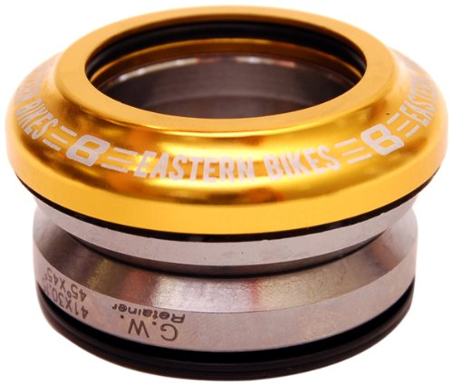 Eastern Bikes 45/45Campagnolo Style Headset, Matte Gold