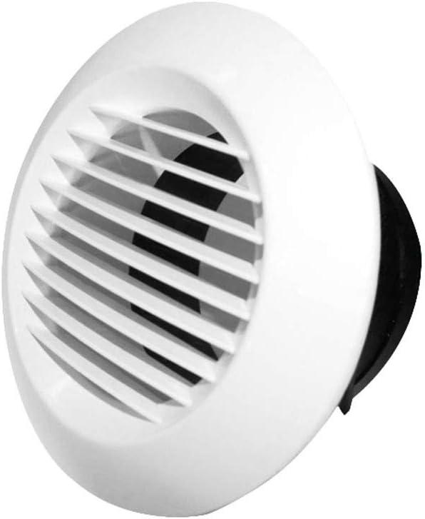 Release Ventilaciones de Escape, persianas Circulares, ventilaciones, Salidas de Aire Acondicionado centrales Circulares, Parabrisas de Humos (Size : 150MM)