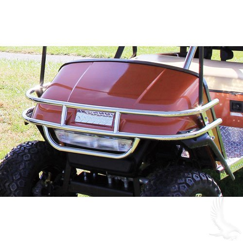 EZGO TXT/Med Stainless Steel Front Brush Guard