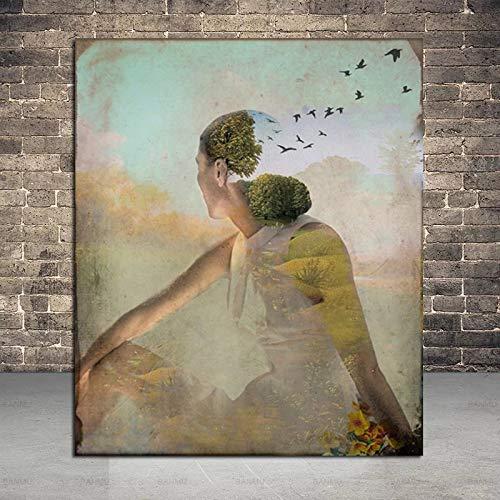 Puzzle 1000 piezas Pintura de imagen nórdica decoración de arte moderno pintura de arte rápido alma puzzle 1000 piezas paisajes Rompecabezas de juguete de descompresión intele50x75cm(20x30inch)