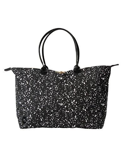 Mi-Pac Shoulder Bags et Luggage Cabas, 61 cm, Splattered Black White