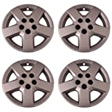 Coast To Coast IWC44016S Set of 4 Silver 16 Inch Hub Cap Wheel Covers for 07-11 Chevrolet HHR and 2008 Malibu