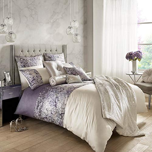 Marisa Mauve Double Duvet Cover by Kylie Minogue at Home - New for Spring 2018