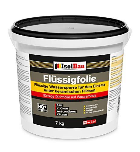 Isolbau 7 kg Abdichtung Flüssigfolie Dichtfolie Bad Dusche Küche Abdichtfolie Duschelement Duschabdichtung