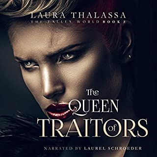Page de couverture de The Queen of Traitors