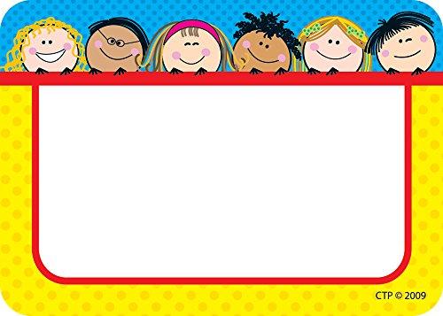 Creative Teaching Press Smiling Stick Kids Labels (4503)