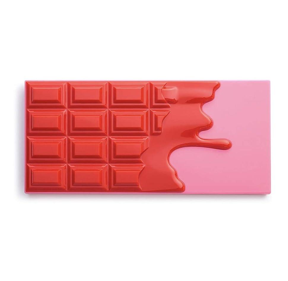 マーキングバレエ誇張メイクアップレボリューション アイラブメイクアップ チョコレート型18色アイシャドウパレット #Cherry Chocolate