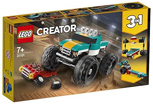 LEGO31101Creator3en1MonsterTruckCochedeGranPotenciaoDr