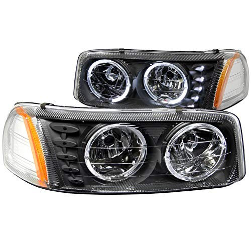 01 gmc sierra crystal headlights - 2