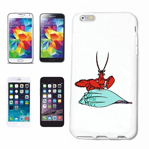 Reifen-Markt Carcasa para iPhone 7, diseño de langosta, comida, dibujos animados, divertido, culto, dibujos animados, divertido, culto, carcasa rígida