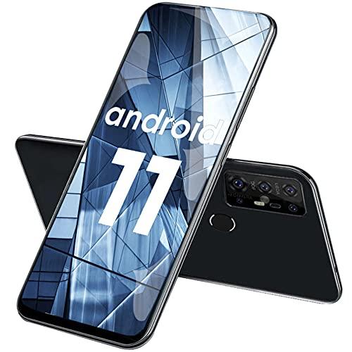 Smartphone Offerta Del Giorno, DOOGEE X96 Pro 6,52' Android 11 Telefoni Cellulari, 5400 mAh, 4GB + 64GB, Quad Camera 13 MP, Octa-Core, Dual SIM, GPS, OTG(Nero)[Classe di efficienza energetica A+++]
