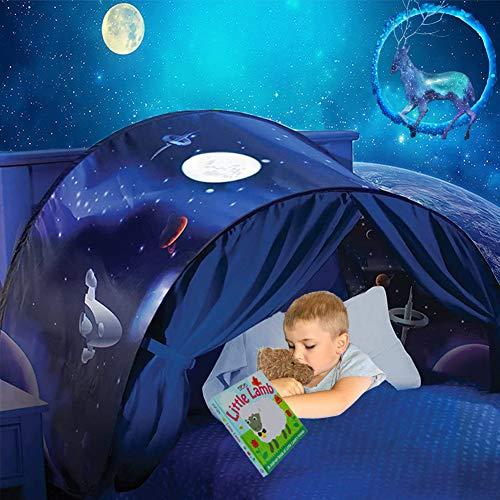 Nifogo Bett Zelt Kinder Spielzelt Kinderzelt Popup Indoor Traumzelt Kinder Drinnen Schlafzimmer Dekoration