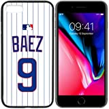 iPhone New Case Cubs C. Home Jersey Baseball Fashion Grip Anti-Slip Protective Shock Resistant Durable PC TPU by Mr Case (Baez, iPhone 8)