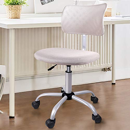 Orveay Chair Armless Ergonomic Mesh Low Back Computer Task For Home Office Conference Study Room Desk