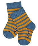 Falke Stripe Calcetines, Blau (Denim 6062), 80-92 para Bebés