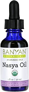 Banyan Botanicals Nasya Oil - USDA Certified Organic - Nasal Drops for Clear Breathing and Lubrication Of The Nose and Sinus Passages