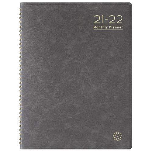 Planificador mensual 2020, color gris