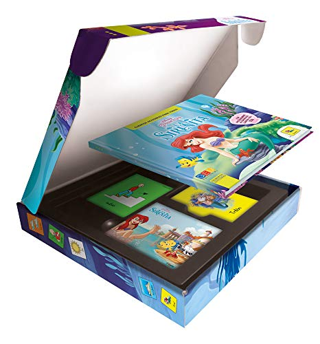 Cuentos Disney con Pictogramas: La Sirenita | Actividades con Tarjetas para Construir Oraciones | Educación Infantil | Editorial GEU (Niños de 3 a 6 años)