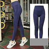 Leggings Plus Size Fitness Seamless Leggings Women Yoga Sport Tummy Pants High Waist Workout Trousers Slim Gym Pants Sportswears 4XL Blue