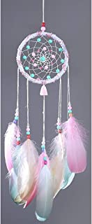 Handmade Dream Catcher,Multiple Styles,Circular Net with Feathers Beads for Wall Car Hanging Decoration Ornament Craft Gif...