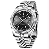 PAGRNE DESIGN Reloj de pulsera automático para hombre, resistente al...