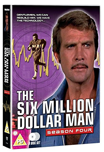 The Six Million Dollar Man - Series 4 (9 DVDs)