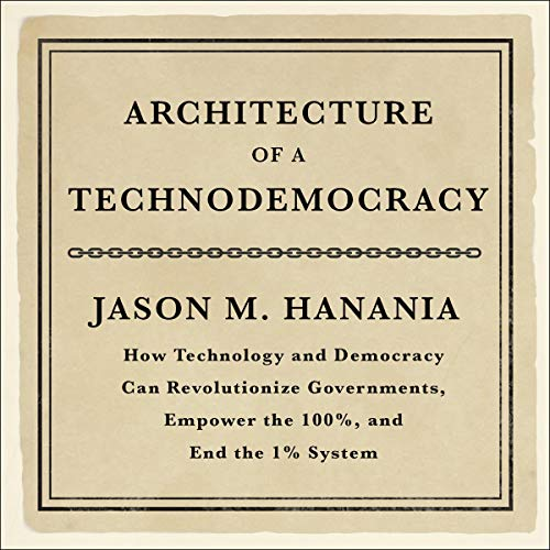 Architecture of a Technodemocracy  By  cover art